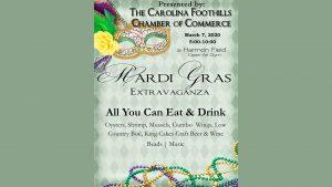 CFC Mardi Gras Poster
